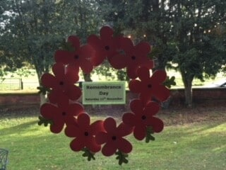 Remembrance Day At Canwick Court